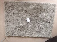 Pile rug (beige) from Muji - NEW condition