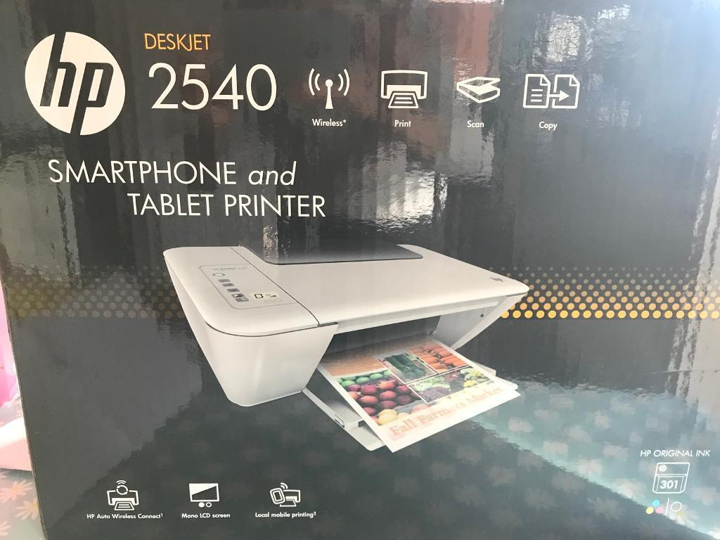 HP Deskjet 2540 smartphone and tablet printer   in Bournemouth, Dorset    Gumtree