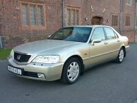 2000 HONDA LEGEND 3.5i V6 AUTO 205 BHP DUAL FUEL PETROL + LPG GAS CONVERTED 60L GAS TANK £25 TO FILL