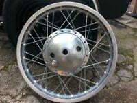 18 inch british bike wheel bsa ariel ?