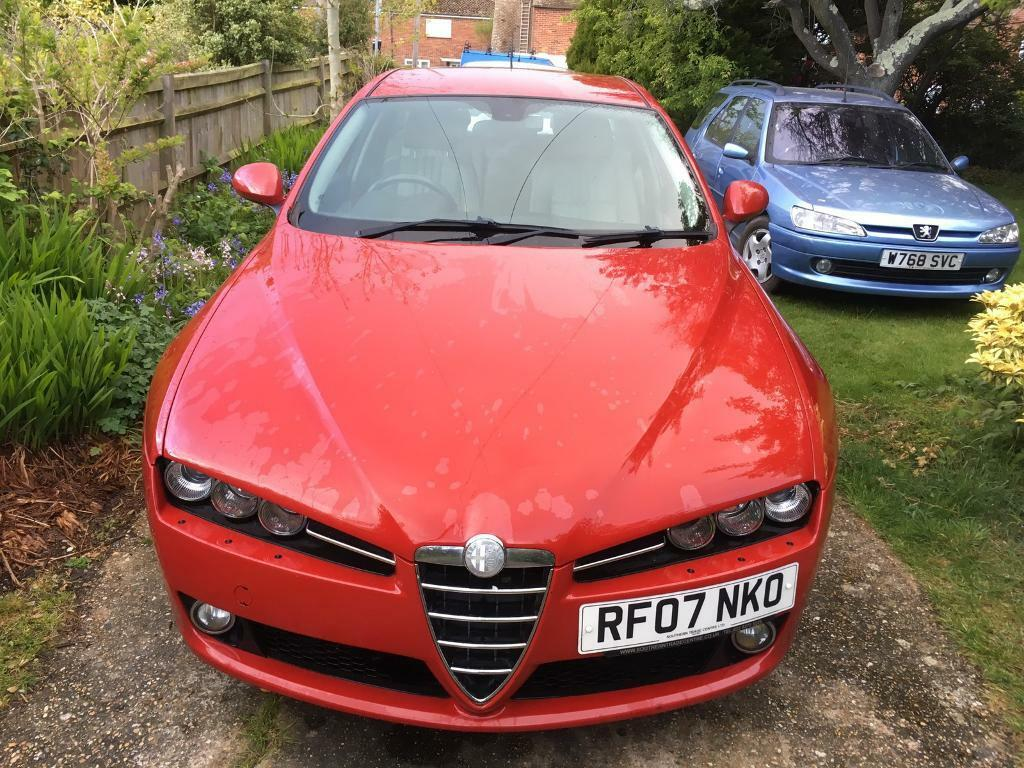 alfa romeo 159 jtdm 1 9 lusso red 07 plate in hastings east sussex gumtree. Black Bedroom Furniture Sets. Home Design Ideas