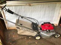 Honda motor mower
