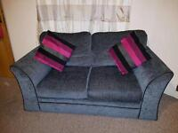 2x2 GREY/BLACK pair of sofa's from SCS excellent condition