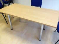 Office Meeting Room Table - collect from London W1 - Detachable legs