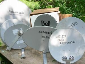 SATELLITE DISHES NEW & USED