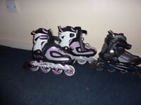 Roller Blades & Ice Hockey Skating shoes £10 each