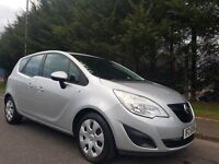 2011 VAUXHALL MERIVA EXCLUISV 1.4 TURBO PETROL 118BHP EXCELLENT LOW MILEAGE EXAMPLE DRIVES AS NEW !