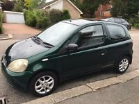 Toyota Yaris 1.0 GLS - Excellent Condition - MOT Expires 28.03.2017 - Bargain only £750 ono
