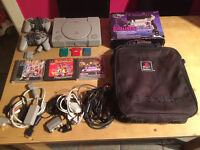 Playstation 1 Console + Games & Accessories