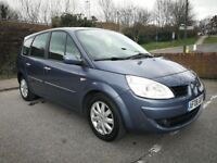 7 SEATER RENAULT GRAND SCENIC AUTOMATIC GOOD CONDITION. 1 YEAR MOT. 3 OWNER. PREVIOUS MOTs AVAILABLE
