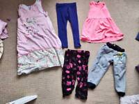 Girl clothes bundle 1-2 years old