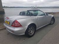 Mercedes Slk200 Kompressor Convertible Automatic(Long Mot,Fsh,Great Spec)