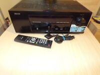 Denon AVR 1713 5.1 Chanel 120w usb hdmi ntwork ARC Sound Calibration remote control
