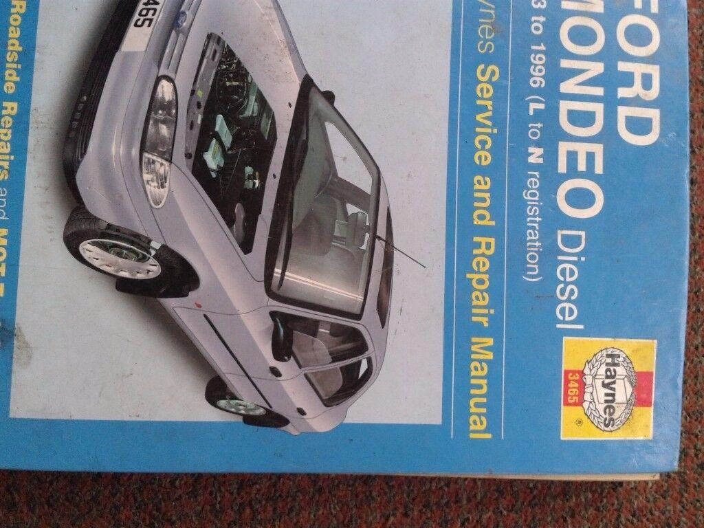 haynes workshop manual ford mondeo diesel 93/96 peugeot 405 1988/1997