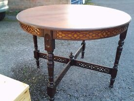 Beautifully restored side table