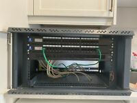 Free Ethernet Cat 5.e 18 Patch Panel
