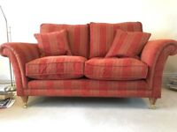 As new Parker Knoll Burghley two-seater sofa