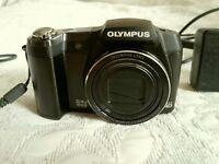 Must go ! Fantastic OLYMPUS STYLUS SZ-17 , 16.1 Megapixel Camera , 24x Optical Zoom , in VGC