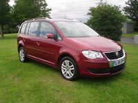 VOLKSWAGEN TOURAN 1.9 TDi SE 7 SEATER,,F/S/H,,FULL YEARS MOT