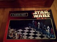 Excellent Condition Star Wars Chess Set