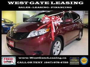 2012 Toyota Sienna 3.5L V6 | CERTIFIED PRE OWNED |