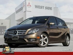 2013 Mercedes-Benz B-Class B250 Sports Tourer-FWD-Turbocharged 2