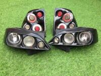Vauxhall Astra lights front and back