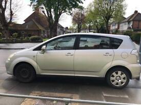 Toyota verso, 7 seater, 1.58 petrol 2005 reg (fixed price)