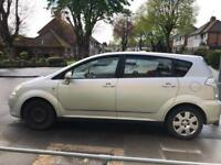 Toyota verso, 7 seater, 1.58 petrol 2005 reg (fixed price)