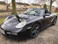 06 Reg Porsche Boxster 2.7 987 (TRIPLE BLACK) convertible eg mr2 saab mx5 audi golf z4 bmw 986 slk
