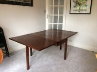 Old Drop-Leaf Table Mid-centry