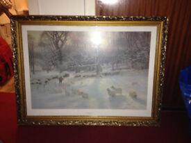 farquharson winter scene print