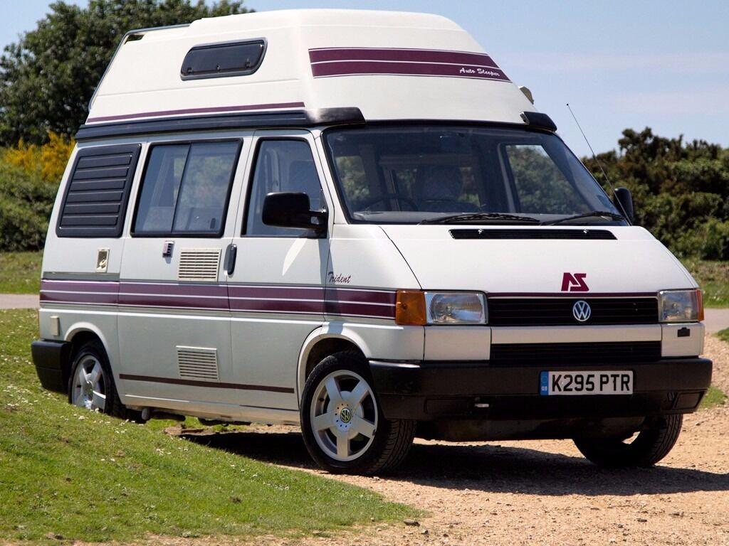 1992 autosleeper trident 4 berth diesel volkswagen vw transporter t4 campervan new mot. Black Bedroom Furniture Sets. Home Design Ideas