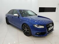 AUDI A4 2.0 TDI S LINE - RS SEPANG BLUE INDIVIDUAL-12 MONTH MOT-12 MONTH WARRANTY-£0 DEPOSIT FINANCE