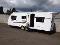 2014 Swift Challenger 590SE 6 Berth Twin Axle Caravan in as new pristine condition 26' 0""
