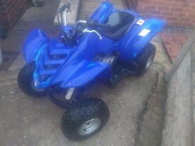 Yamaha raptor 80 cc quad