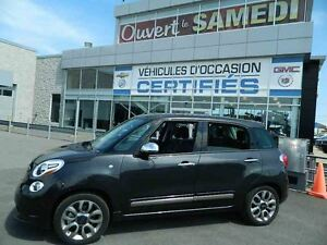 2015 Fiat 500L Lounge TURBO  + TOIT PANO + NAVIGATION