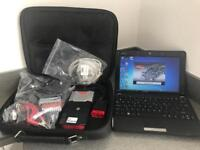 Diagnostic kit includes netbook and all cables +interface