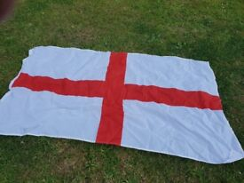 ENGLAND FLAGS Approx 5 feet x 3 feet Brand New, Good quality with brass eyelets