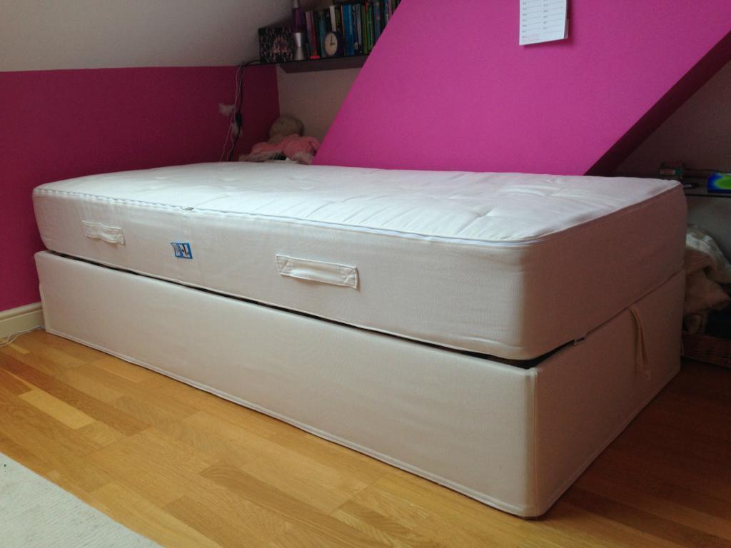 ikea single bed sultan alsarp bed base with concealed