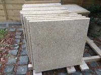 Paving slabs - Marshalls Perfecta fine ground buff