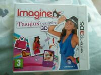 Nintendo 3DS Game - Fashion Designer 3D - Boxed and Perfect