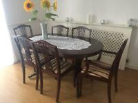 Dining table and chairs set £50 ONO