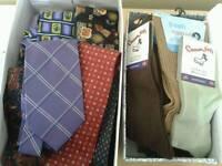Bundle of Ties & Socks