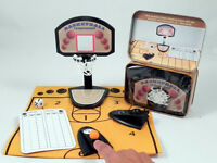 Original High Quality Basketball Game In A Tin Gift Set - 100% BRAND NEW!