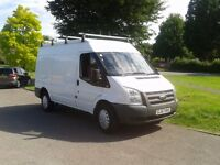 57 Plate Ford Transit MWB Very Low Mileage at 82,000 (NO VAT )