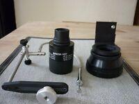 Opticron Eypiece 28WW for HR66 Scope plus digiscoping kit to fit Lumix DMC F57 Camera