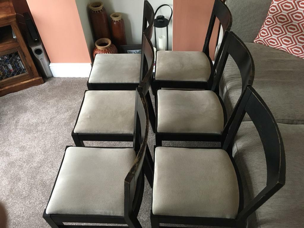 Set Of 6 IKEA Roger Dining Room Chairs