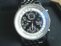 Breitling Montbrillant Olympus A19350 Moonphase Chronograph