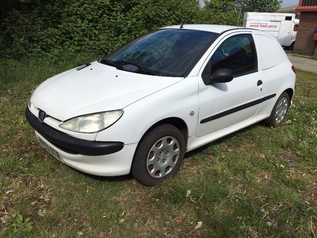 peugeot 206 van 2004 53 1 4 hdi full mot just serviced very economical in norwich. Black Bedroom Furniture Sets. Home Design Ideas